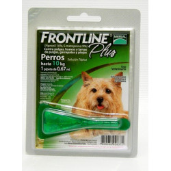 FRONTLINE PLUS PIPETA PERRO 0-10 KG