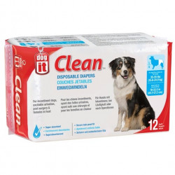 DOG IT CLEAN PAÑALES L