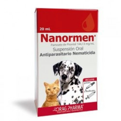 NANORMEN ANTIPARASITARIO INTERNO. 20 ML