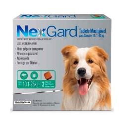 Nexgard 10 a 25 kg 3 COMP.