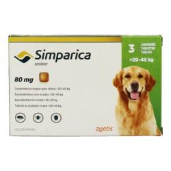 SIMPARICA 20 A 40 KG 3COMP