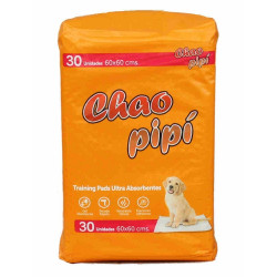 CHAO PIPI TRAINING  PADS ULTRA ABSORBENTES 30 UNIDADES