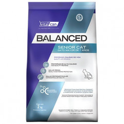 BALANCED CAT SENIOR 2 KG