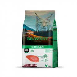 BRAVERY POLLO ADULT CAT 2KG