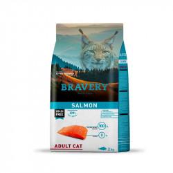 BRAVERY SALMON CAT ADULTO 2KG