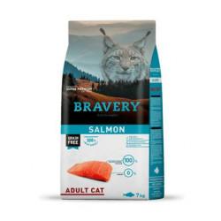 Bravery Salmón Cat Adulto 7kg