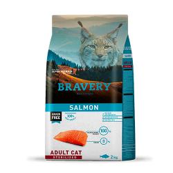 BRAVERY CAT SALMÓN ADULTO...