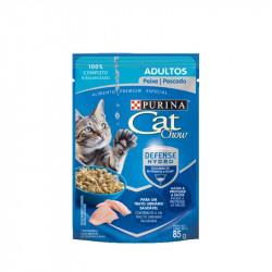 CAT CHOW SACHET PESCADO85 GRS