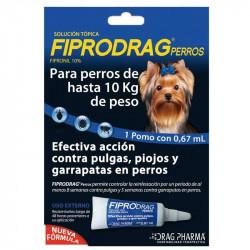FIPRODRAG  PERRO HASTA 10 KG